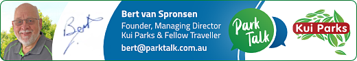 Bert van Spronsen, Founder, Managing Director Kui Parks & Fellow Traveller
